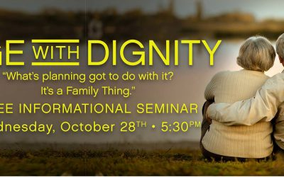 Age with Dignity Webinar Wednesday