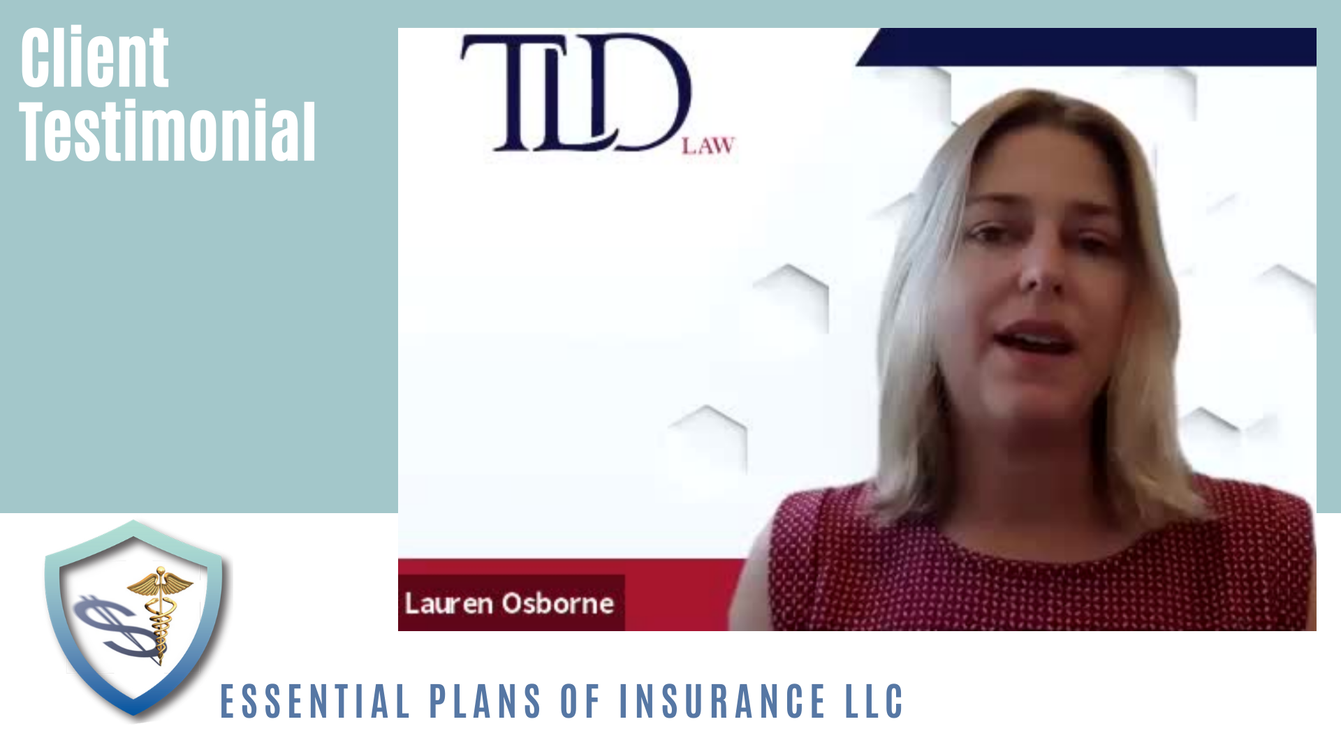 Testimonial: Lauren Osborne's personal perspective on Long Term Care Insurance