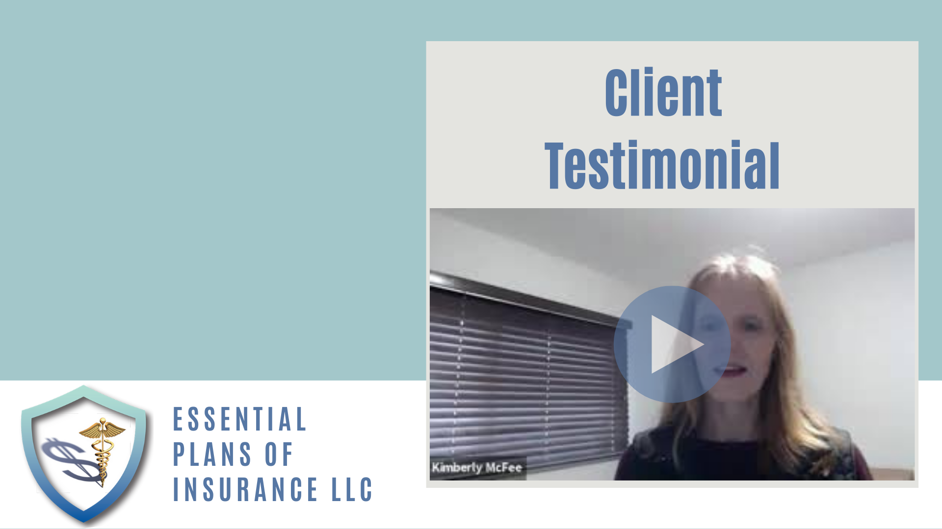 "Client Testimonial ""Peace of Mind"" with Long Term Care Insurance 